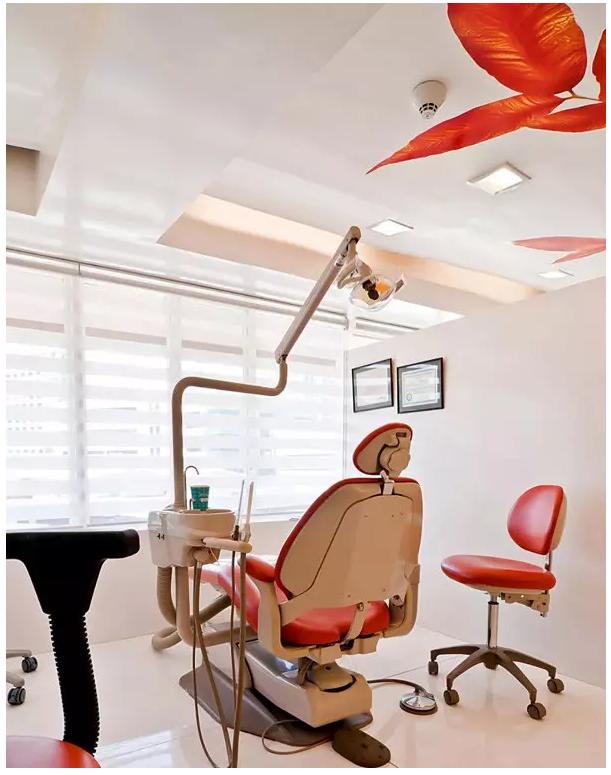 然而,外国银竟然把牙科诊所也设计得如此的高端,果真,外国银的精神